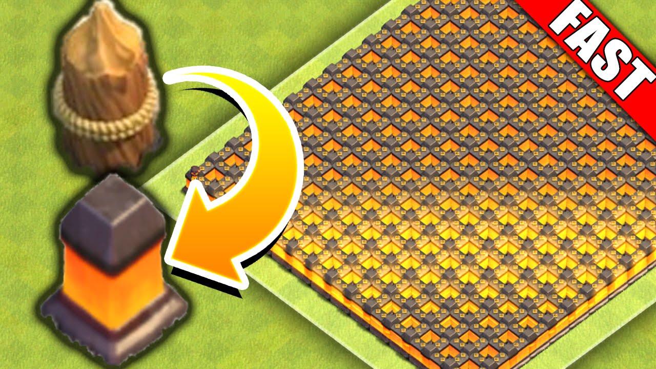 clash of clans walls upgrade